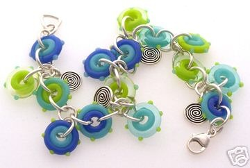 Sea Breeze Easy Funky Jump Ring Bracelet Kit