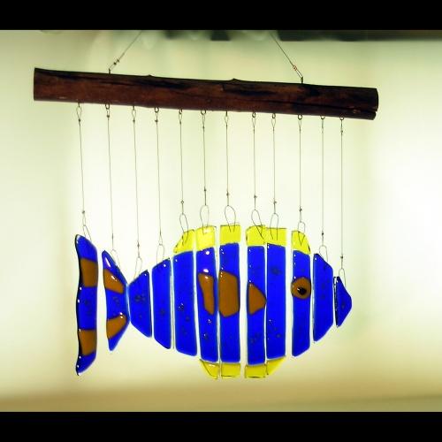 Fish chime vine street designs vine street gallery for Wind chime design ideas