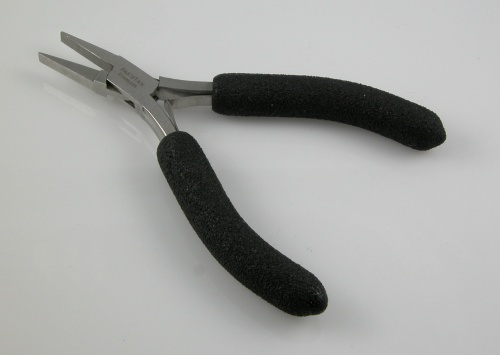 Flat Nose Pliers with Foam Grips